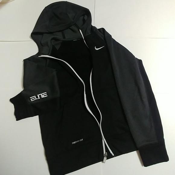 Boys Nike Elite Therma Fit Zip up Hoodie. M 5b7062702e14785325b6d734 ff643044c33d